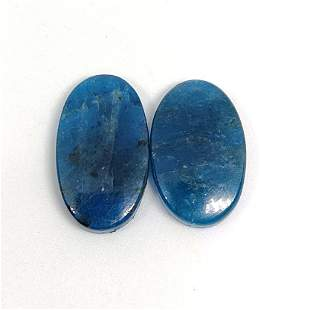 26.10 ct Natural Apatite Pair