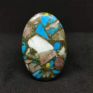 28.75 Natural Copper Turquoise