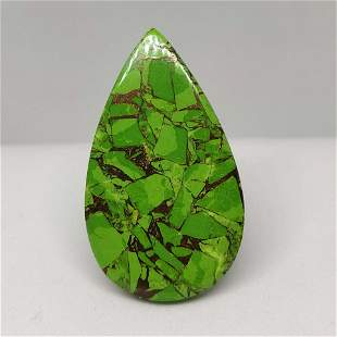 27.85 ct Natural Green Mohave Turquoise