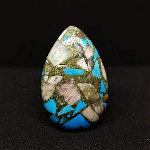 24.70 ct Natural Copper Turquoise