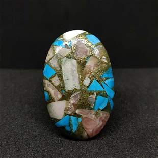28.85 ct Natural Copper Turquoise