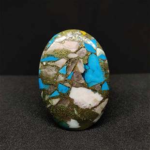 30.95 ct Natural Copper Turquoise