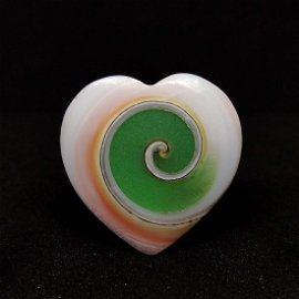 21.45ct Very Rare Natural Snail Fossil