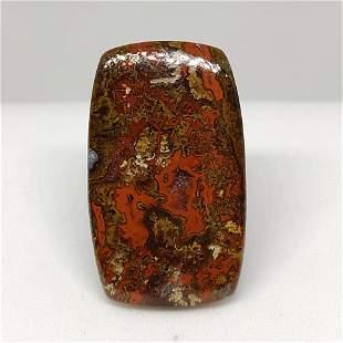 28.70 ct Rare Natural Seam Agate