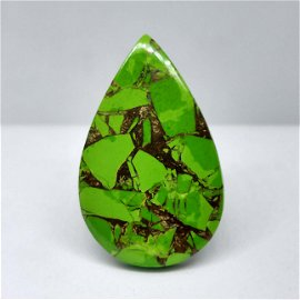 23.80 ct Natural Green Mohave Turquoise
