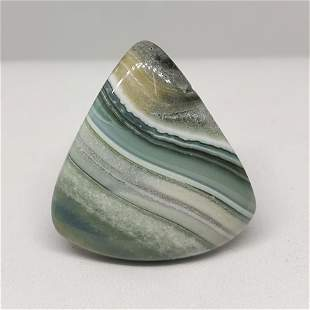 30.60 ct Natural Lace Agate