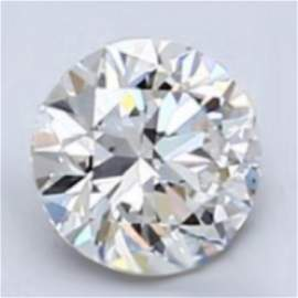1.06 ct Loose Round Cut Diamond Color H IF 42% OFF