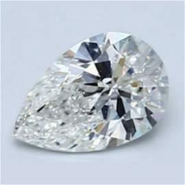 1.53 ct Loose Pear Cut Diamond Color D IF 37% OFF