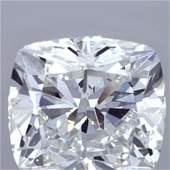 3.01 ct Loose Cushion Cut Diamond Color H VVS2 45% OFF