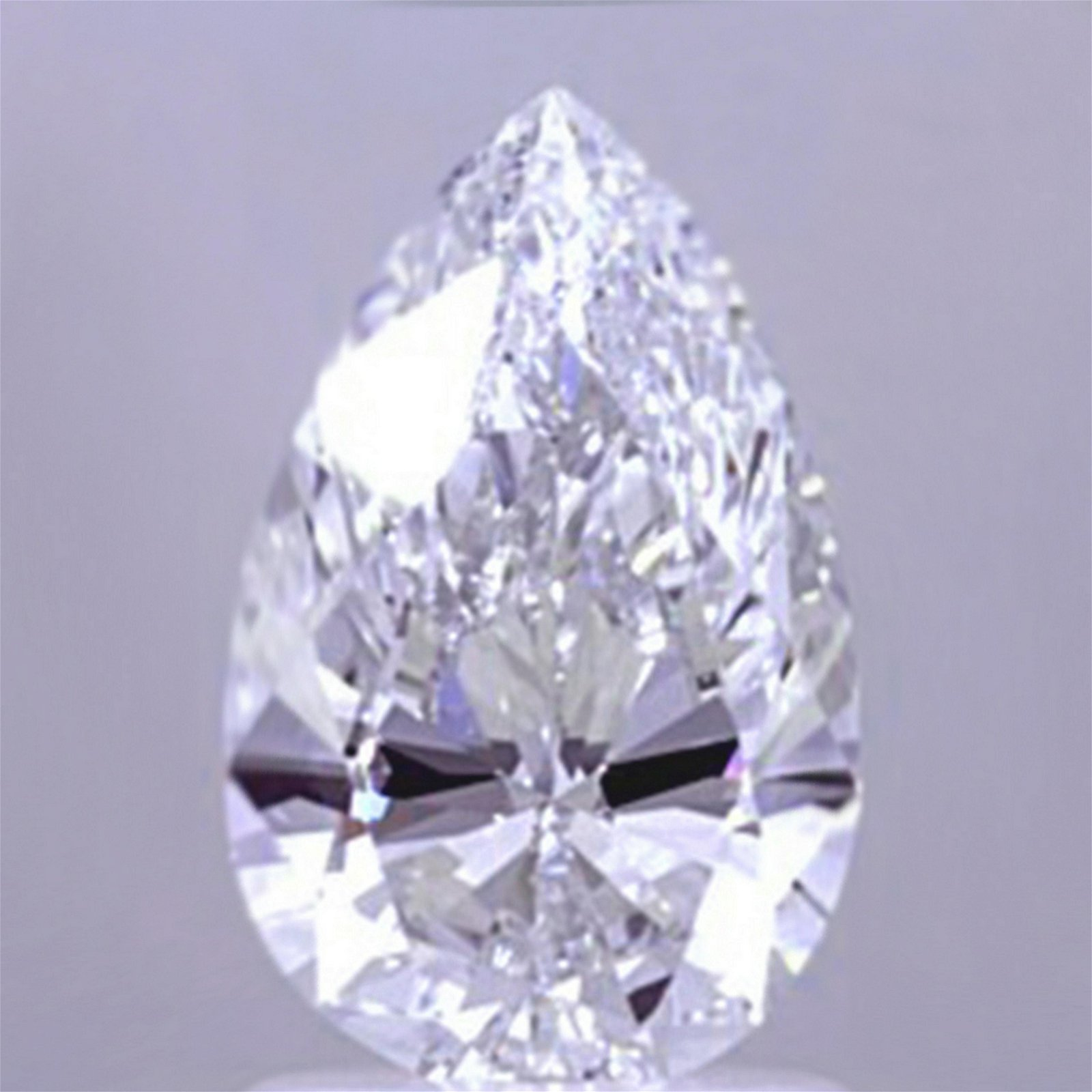 1.53 ct Loose Pear Cut Diamond Color D IF 42% OFF