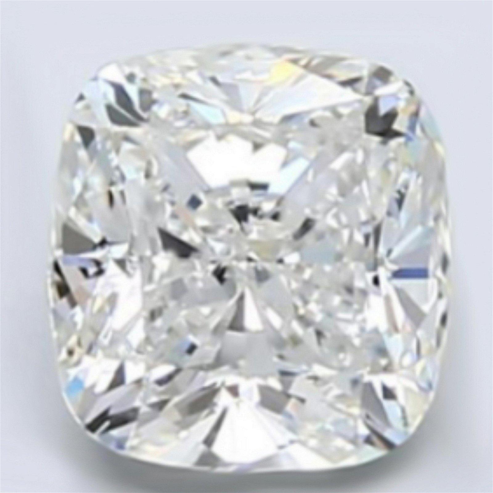 4.09 ct Loose Cushion Cut Diamond Color D VS2 47% OFF