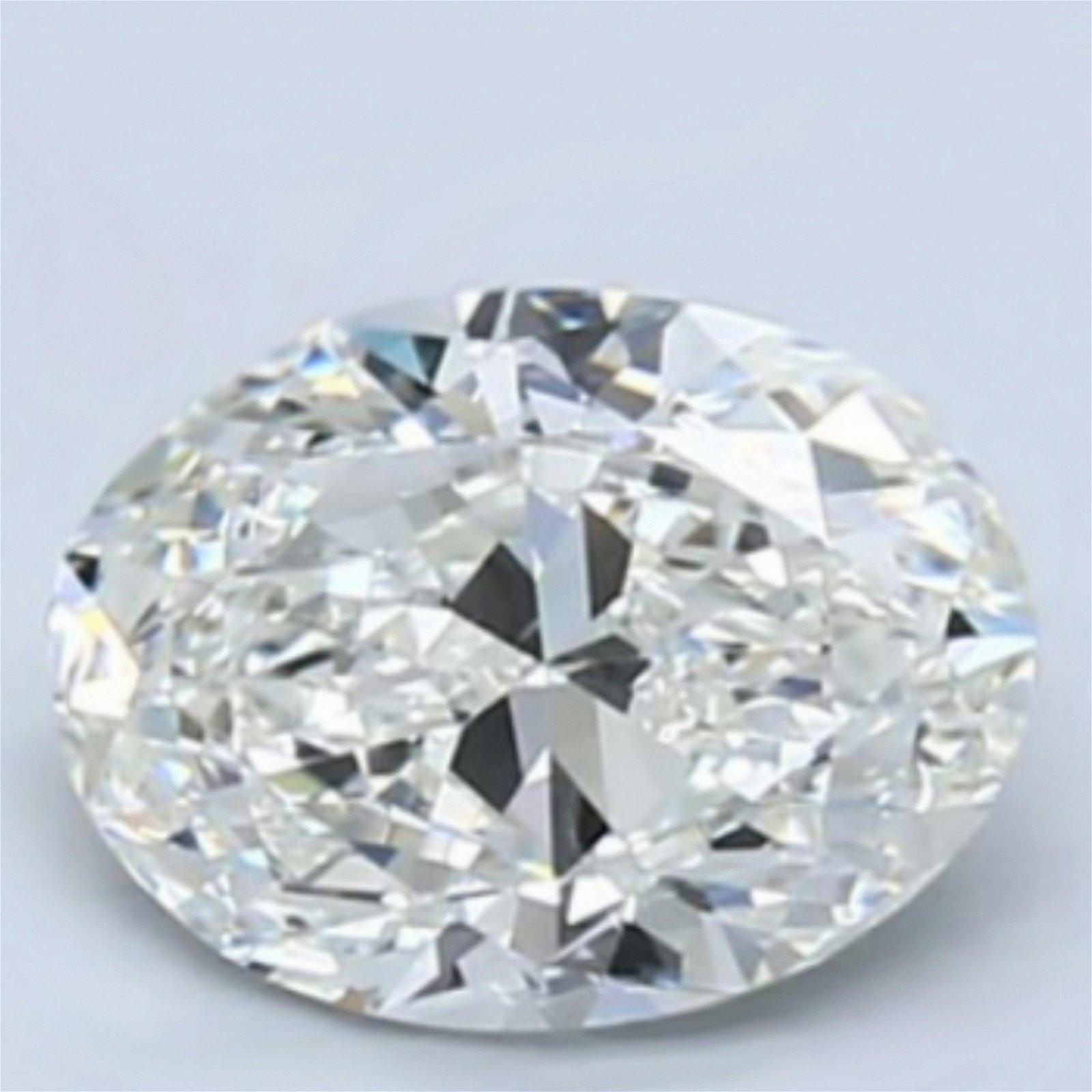 1 ct Loose Oval Cut Diamond Color F VS2 47% OFF