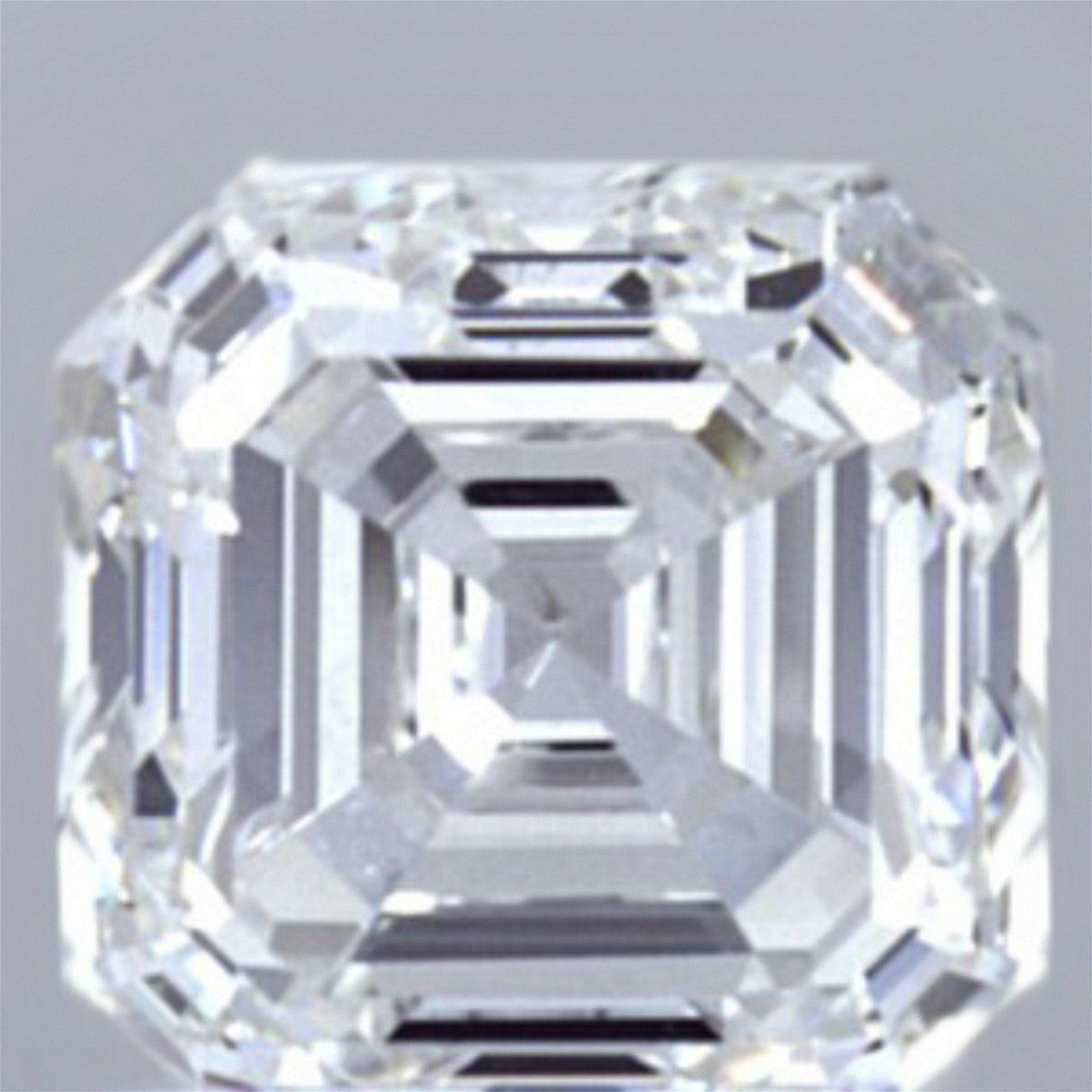 1.01 ct Loose Asscher Cut Diamond Color I IF 47% OFF