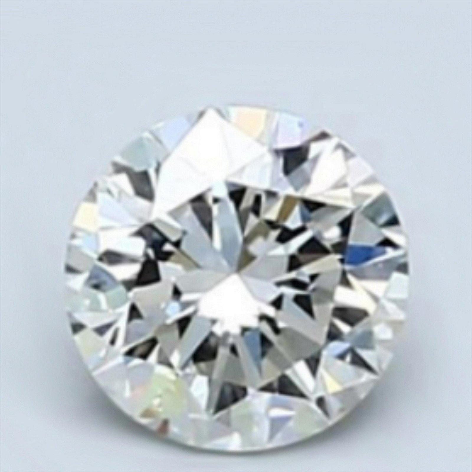 5.43 ct Loose Round Cut Diamond Color I VVS2 67% OFF