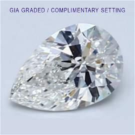 2.01 ct Loose PEAR Cut Diamond Color D IF 53% OFF