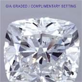 5.54 ct Loose CUSHION Cut Diamond Color G VS1 67% OFF