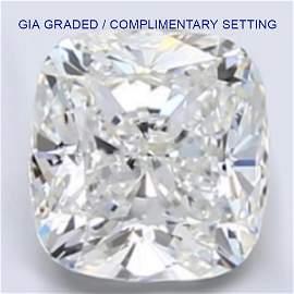 4 ct Loose CUSHION Cut Diamond Color H VS2 43% OFF