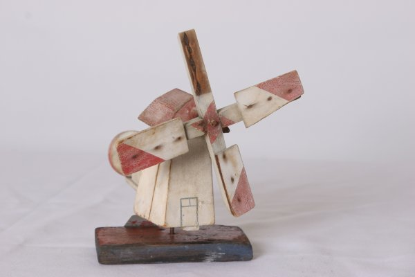 3: Windmill Whirly Gig with Original Paint. Circa 1920.