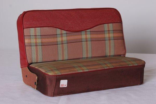 "7: Salesman Sample Car Seat. Circa 1950. Size: 10"" H x"