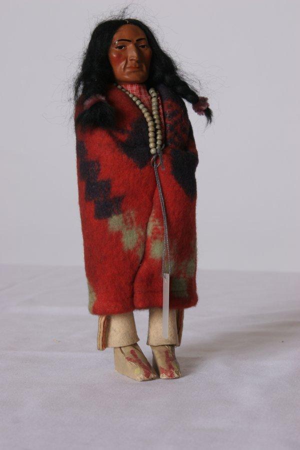 18: Skookum Bully Good Indian Doll: Fantastic condition