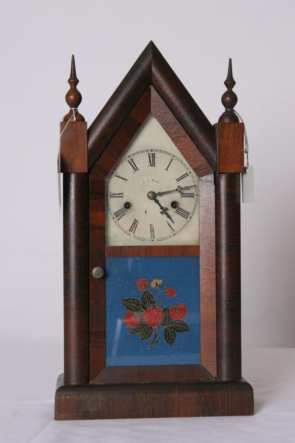 23: Steeple Clock by E. N. Welch