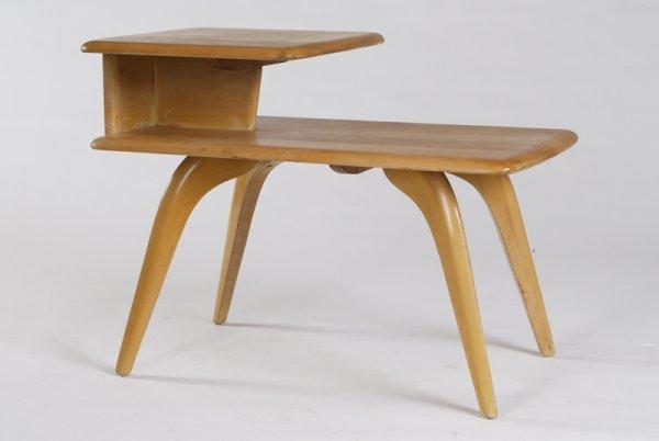 1: Heywood Wakefield End Table, Circa 1950