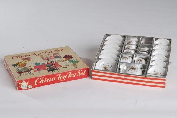 5: China Toy Tea Set in Original Box
