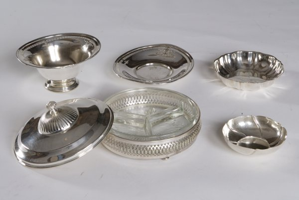 10: Lot of Silver Plate