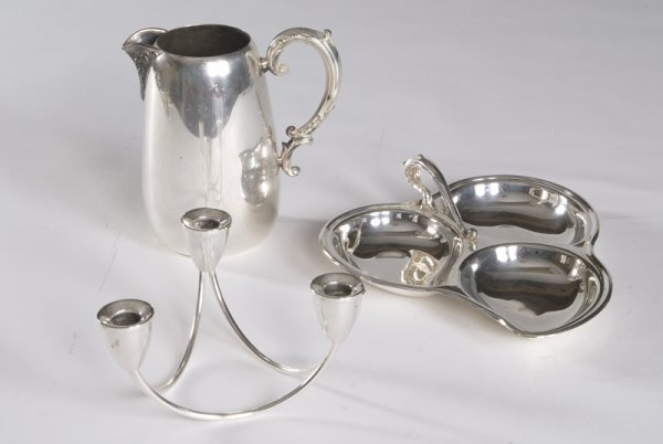 11: Lot of Silver Plate