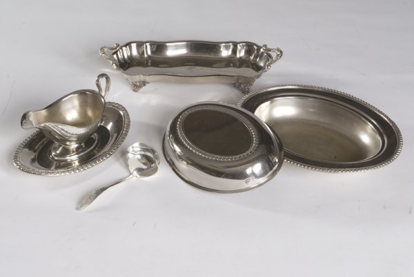 16: Lot of Silver Plate