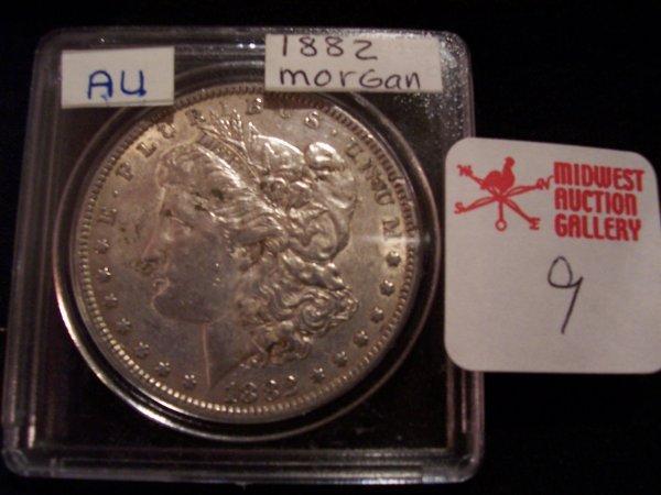 9: Morgan Silver Dollar, 1882