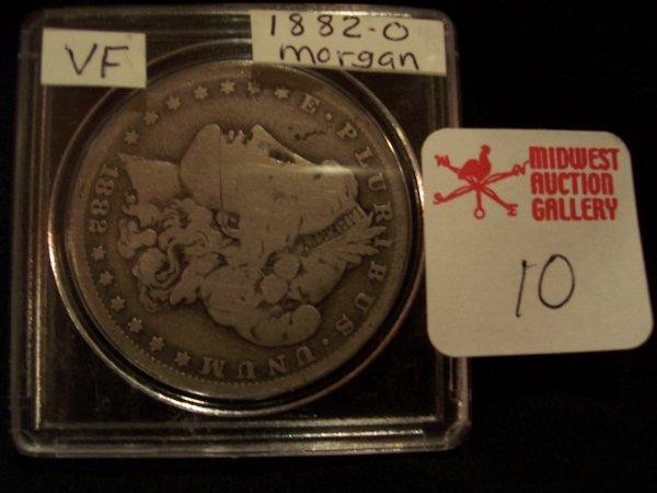10: Morgan Silver Dollar, 1882 O