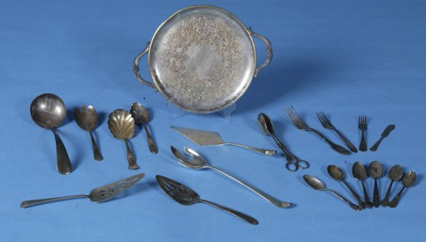 6: 20 Various Silver-plate Table Items