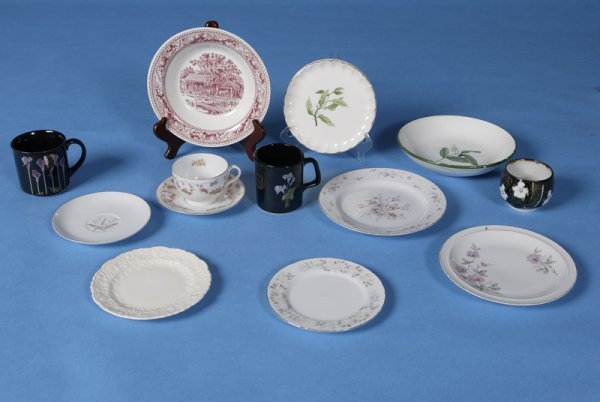 9: Large Collection of Various China