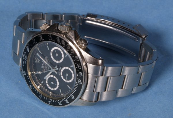 408: Rolex Gentleman's Daytona Chronograph SS Watch?