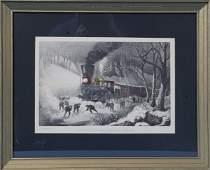 588 20th Century Replica Currier  Ives Railroad Print