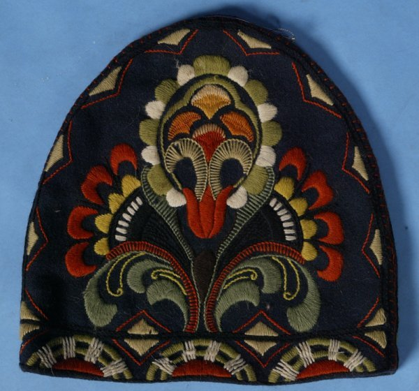 11: Circa 1930 Art Deco Wool Toaster Cover