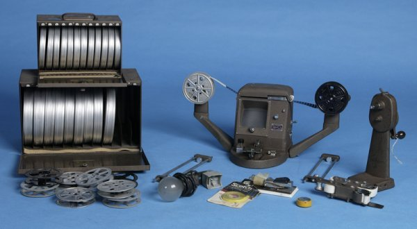 16: Movie Splicing Equipment & Reels