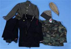 245: Military Collectors Clothing Lot