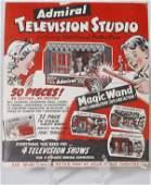 511: Child's1953 Admiral Television Studio Die-Cut