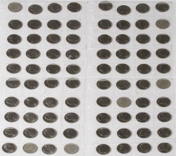 1332A: Lot of 80 Eisenhower 1971D Silver Dollars