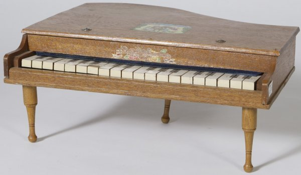 1333: Mid 20th C. Childs Baby Grand Piano