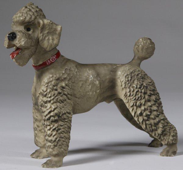 12: C. 1955 Very Large Breyer Molded  Poodle