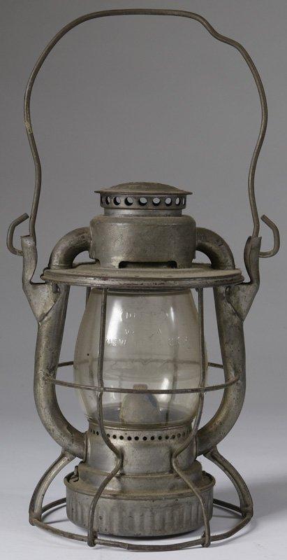 15: C. 1920 Dietz N.Y.C. RR Brakeman's Lantern
