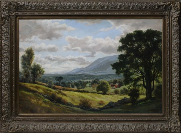 121: William Dean Fausett (1913-1988) American, Oil On