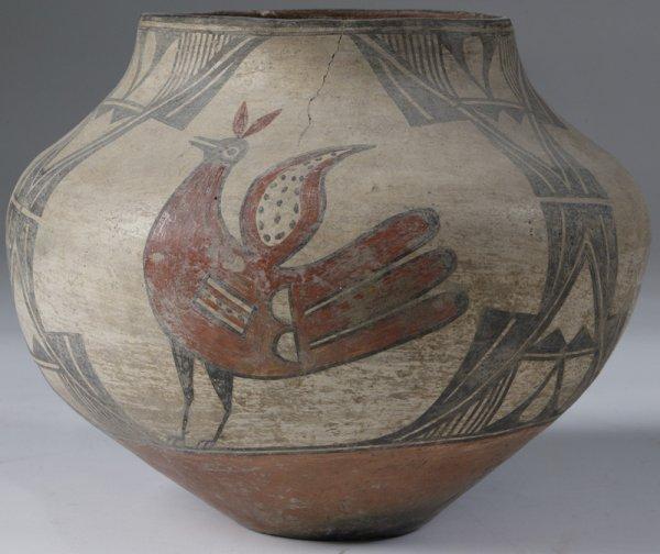 283: Exceptional 19th C. Zia Pueblo Jar