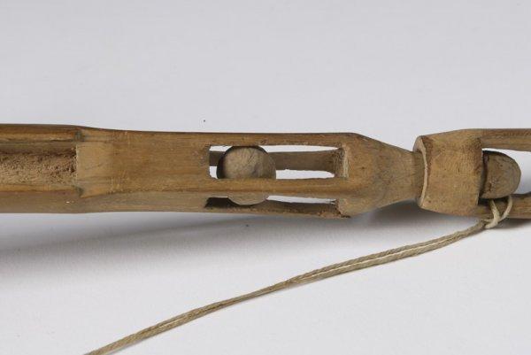 371: Mid 19th C. Hand Whittled Sailors Folk Art Whimsy - 2