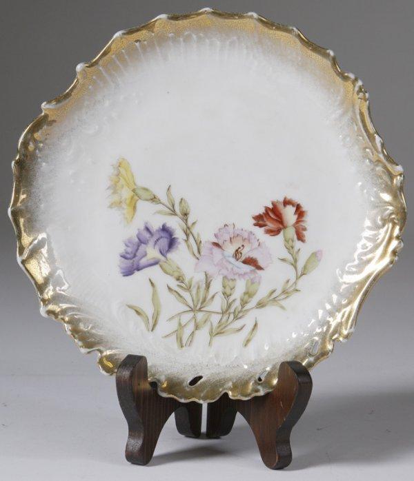 1010: Dresden Porcelain Plate