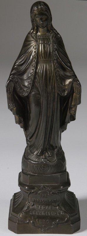 1015: Bronze Statue Of Madonna