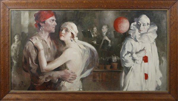 1120: Willard Charles Fairchild (1887-1946) American, O